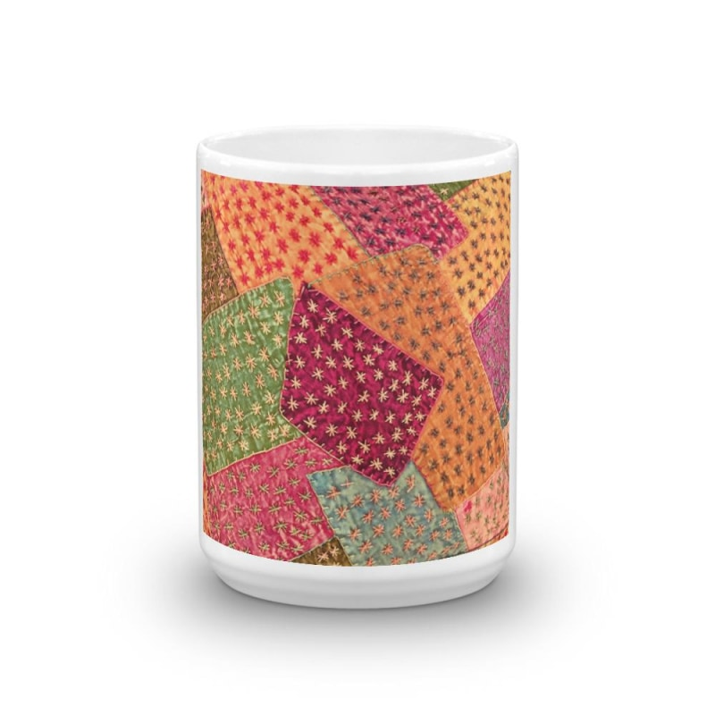 Vintage Print Mug - Beautiful Coffee Mug - TheVirasat - Home Furnishings Textile Exporter