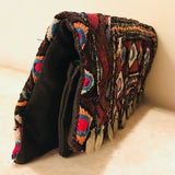 Vintage Purse, Leather Clutch Bag, Coin Purse, Party Bag - TheVirasat - Home Furnishings Textile Exporter