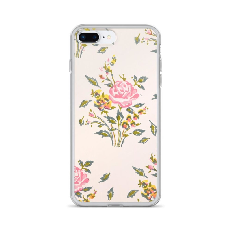 Watercolor Flowers Iphone Case Premium Iphone Case - Iphone 7 Plus/8 Plus