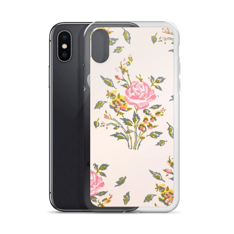 Watercolor Flowers iPhone Case, Premium iPhone Case - TheVirasat - Home Furnishings Textile Exporter