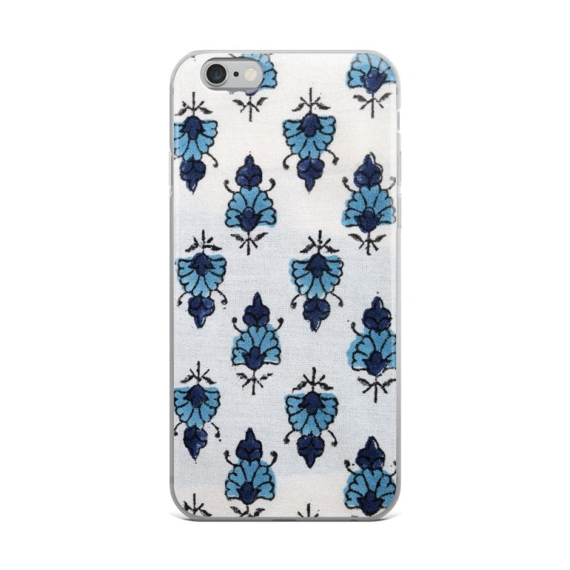 Watercolour Blue Flowers iPhone Case - TheVirasat - Home Furnishings Textile Exporter
