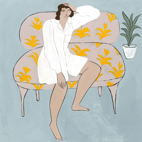 Wonderer on a Couch - Isabelle Feliu