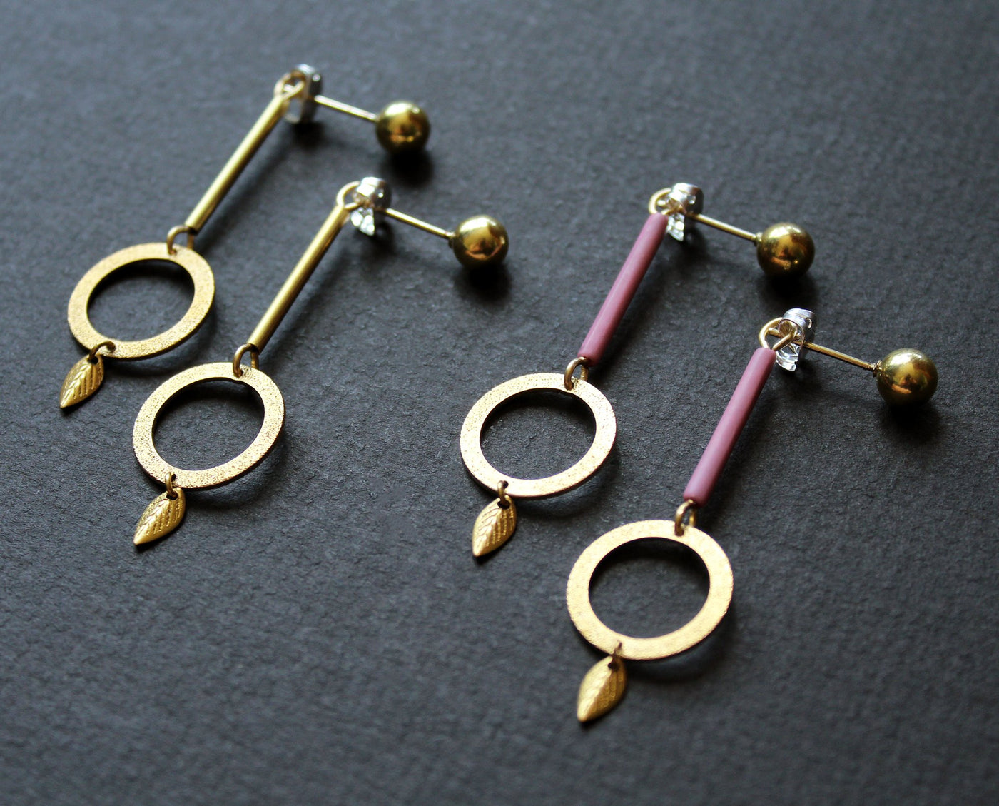 Boucles d'oreilles Willow ( LILAS)- NEA Wear