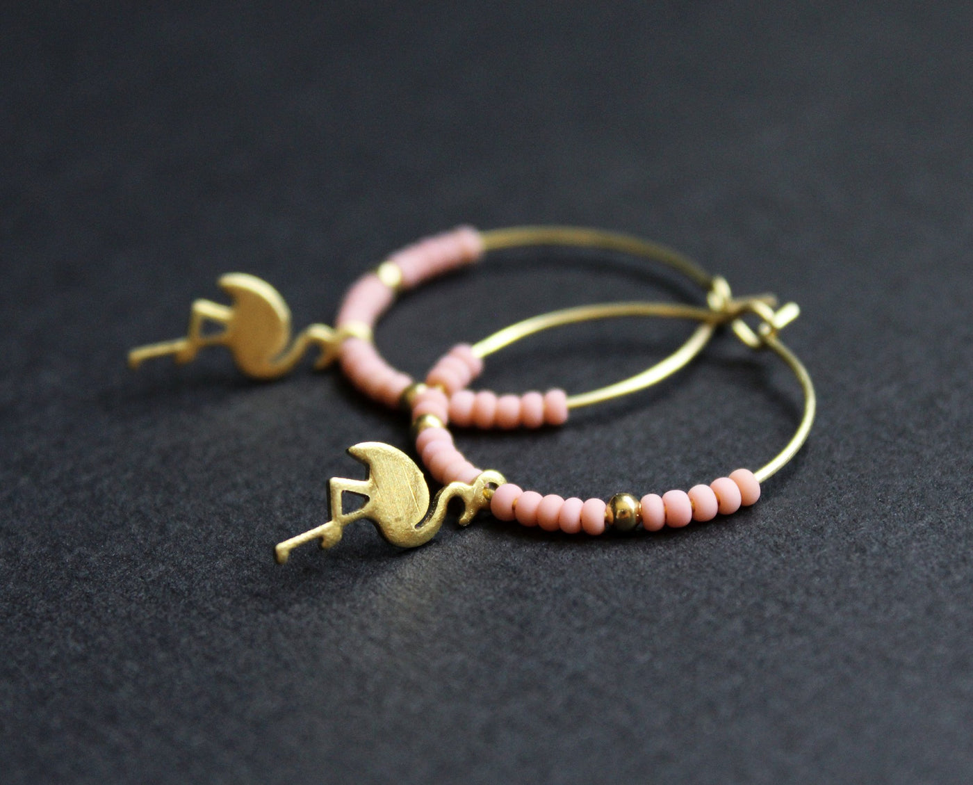 Flamingo Boucles d'oreilles- NEA Wear