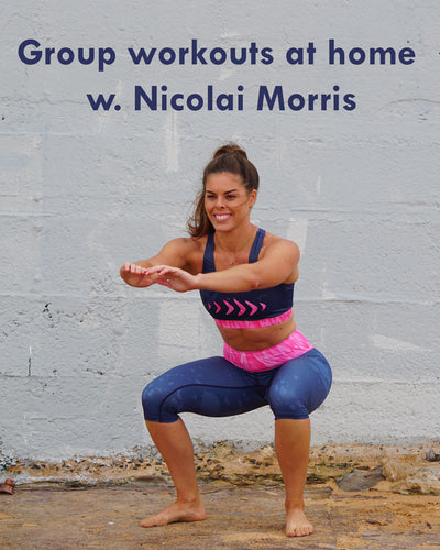 Virtual Circuit Training with Nicolai Morris