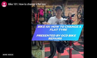 Bike 101: How to change a flat tyre