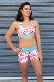 Summer Chevron GYM Shorts