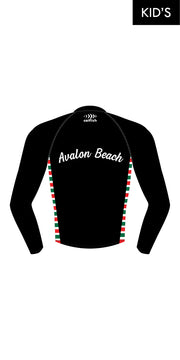 Kids' Avalon Beach SLSC Long Sleeve Rashie