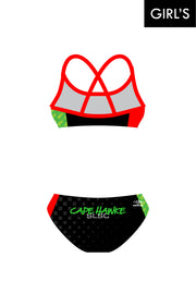 Cape Hawke SLSC Girl's Cross Back Bikini