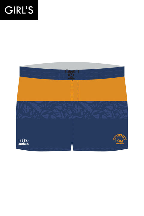 Off The Track Training Girl's Boardshorts