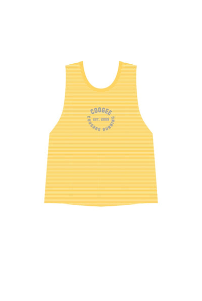 Coogee Cougars Tank Singlet - Gold