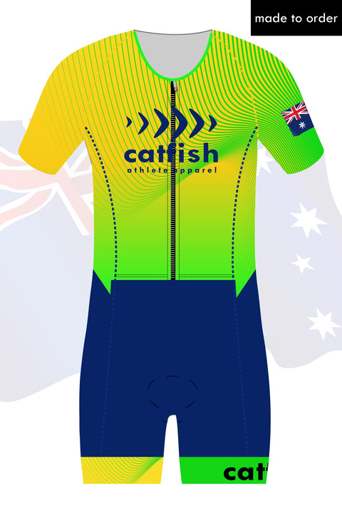 Australia Custom Sleeve Tri Suit