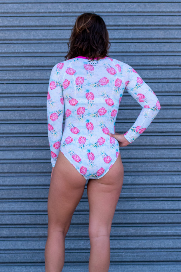 Girl's Pineapple Punch Surf Suit