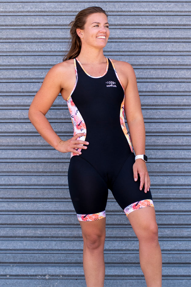 Spritz Open Back Tri Suit