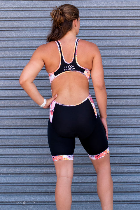 Girl's Spritz Open Back Tri Suit