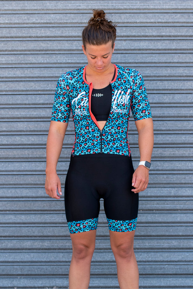 Bengal Sleeve Tri Suit