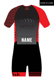 Asymetric Custom Sleeve Tri Suit