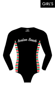 Girl's Avalon Beach SLSC Surf Suit