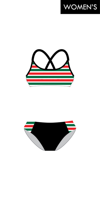 Avalon Beach SLSC Cross Back Bikini