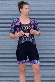 Can't Touch This Sleeve Tri Suit