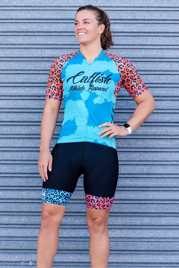 Cheetah Cycle Jersey