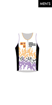 Coffs Harbour Tri Club Zip Tri Top