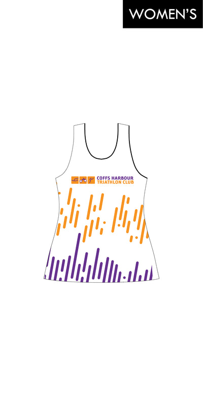 Women's Coffs Harbour Tri Club Run Singlet