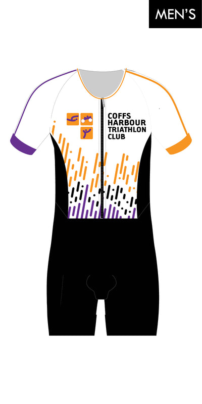 Coffs Harbour Tri Club Sleeve Suit