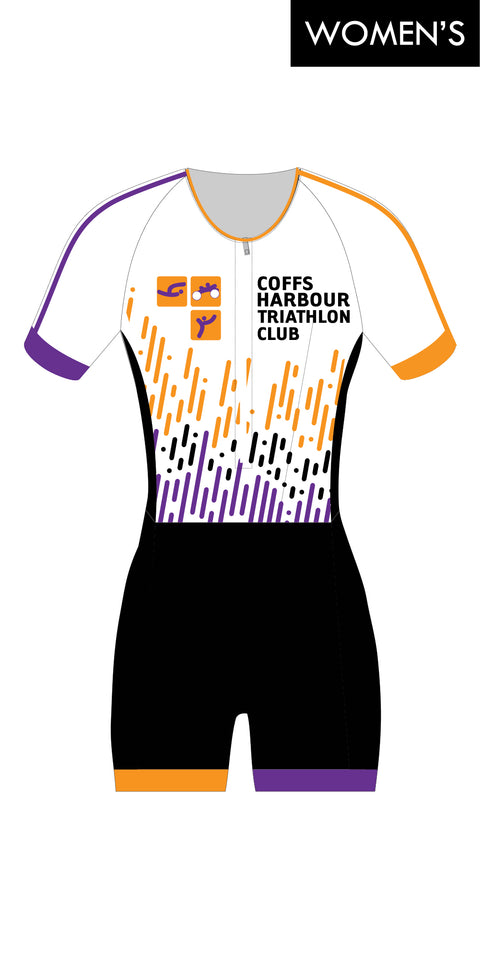 Women's Coffs Harbour Tri Club Sleeve Suit