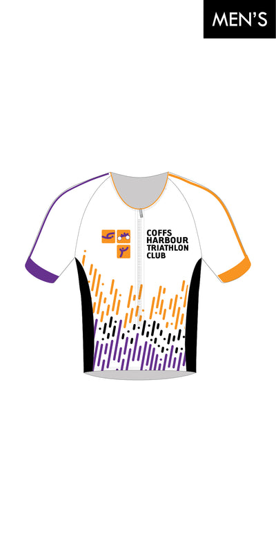 Coffs Harbour Tri Club Sleeve Tri Top