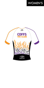 Women's Coffs Harbour Tri Club Sleeve Tri Top