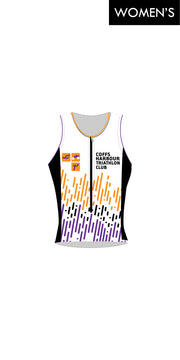 Women's Coffs Harbour Tri Club Zip Tri Top