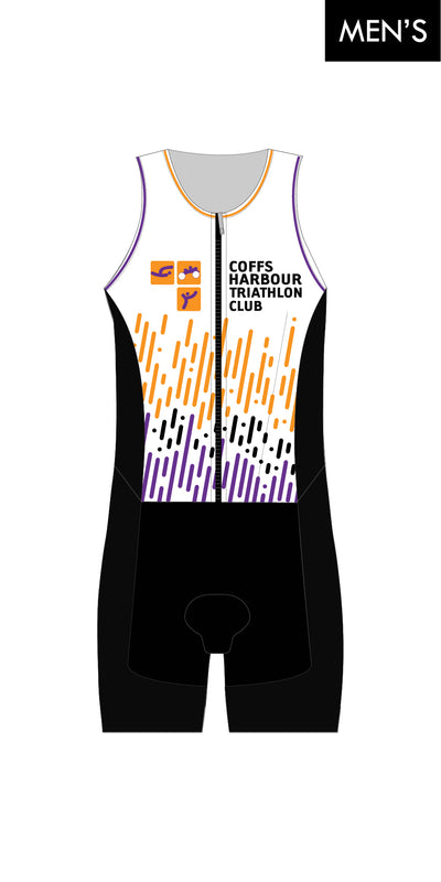Coffs Harbour Tri Club Zip Suit