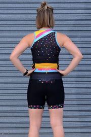 Shoot For The Stars Sleeveless Tri Top
