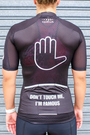 "Renee X Catfish ""Don't touch me, I'm famous"" Cycle Jersey"