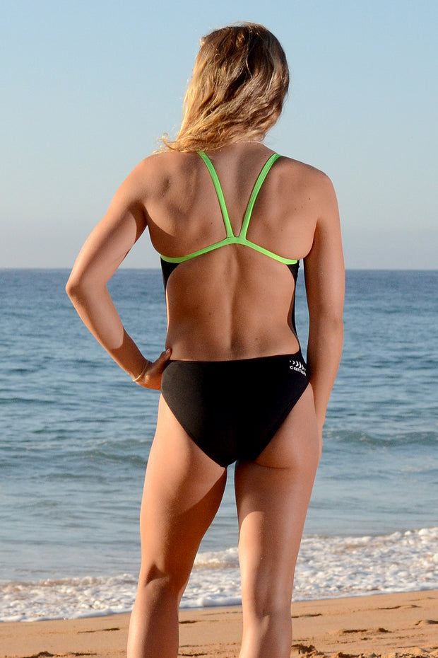 Electric Lime V-back