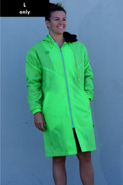 Fluro Green Swim Jacket