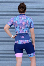 Fluro Love Pineapples Cycle Jersey