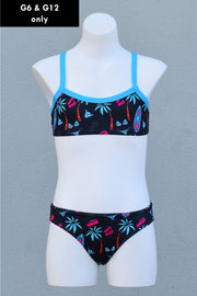 Girl's Good Vibes Scoop Bikini