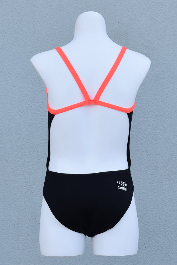 Girl's Coral Fiesta V-Back
