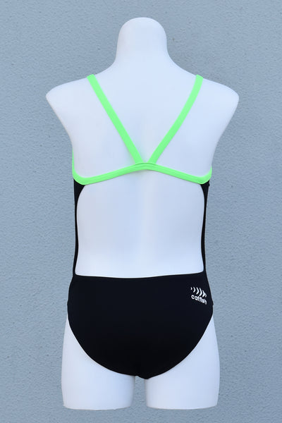 Girl's Electric Lime V-Back