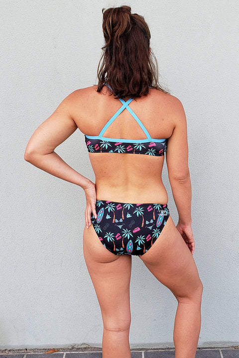 Good Vibes Cross Back Bikini