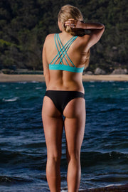 Lattice Bikini Top - Parakeet