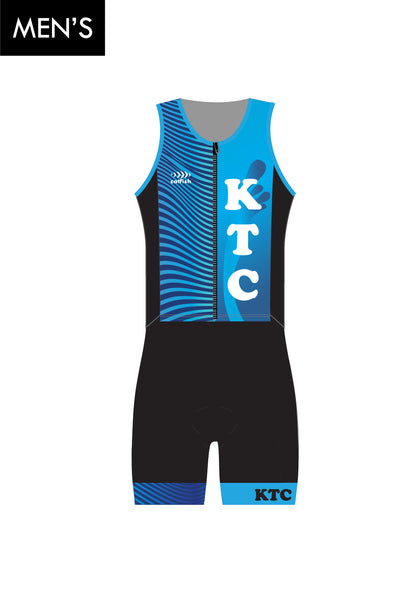 Men's KTC Zip Tri Suit
