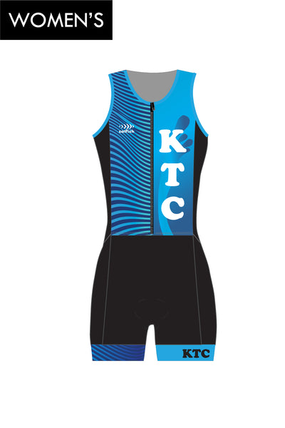 Women's KTC Zip Tri Suit