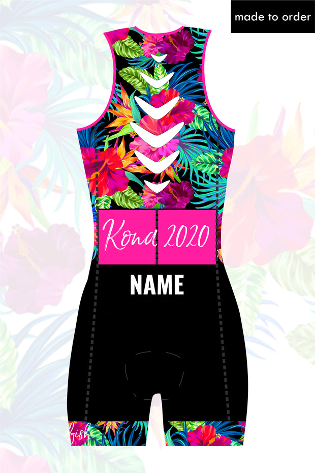 Kona Custom Zip Tri Suit