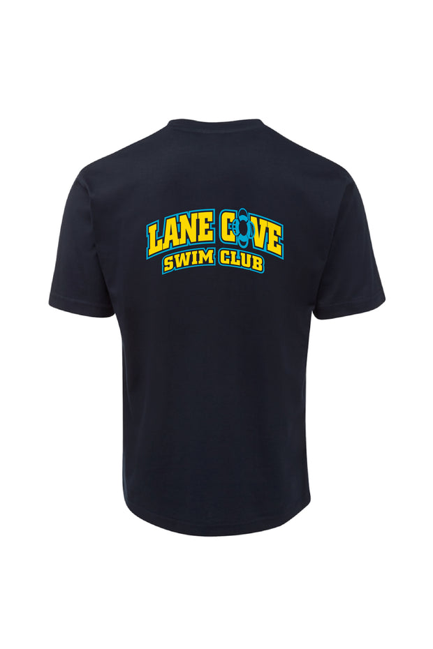 Lane Cove Swim Club Tee - Navy