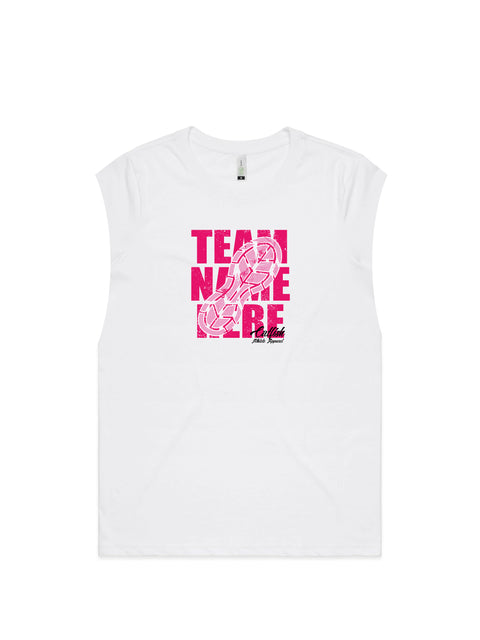 Women's Custom Team Muscle Tank - Made to Order