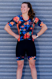 Oahu Sleeve Tri Suit