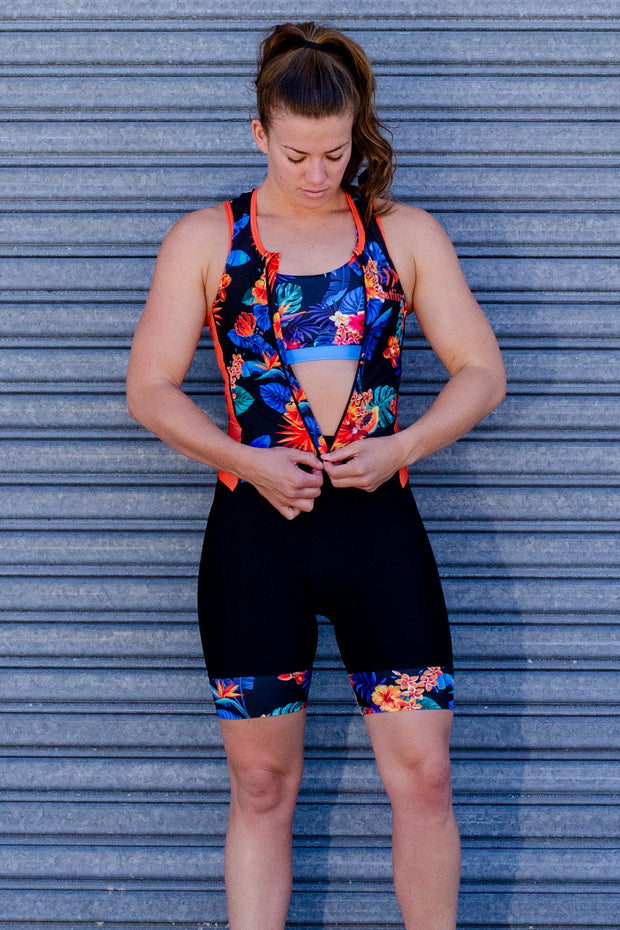 Oahu Zip Tri Suit